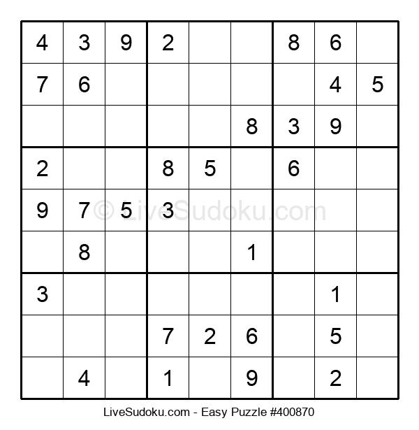 Beginners Puzzle #400870