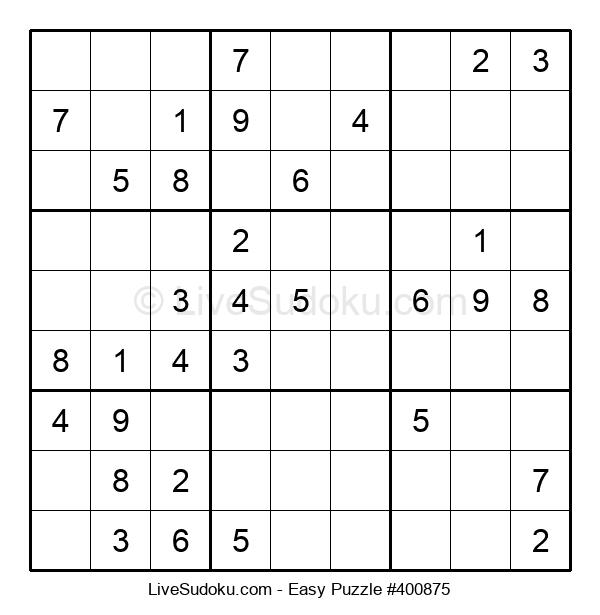 Beginners Puzzle #400875