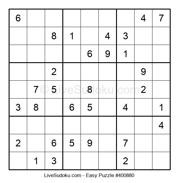 Beginners Puzzle #400880