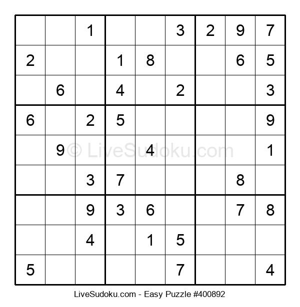 Beginners Puzzle #400892