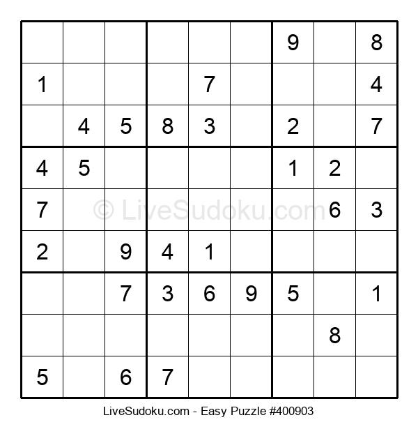Beginners Puzzle #400903