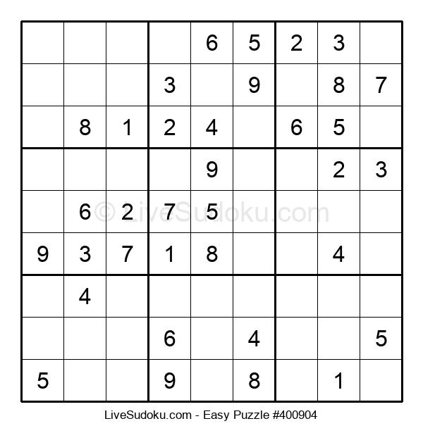 Beginners Puzzle #400904