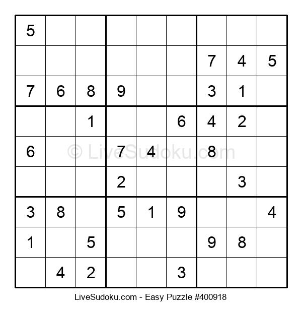 Beginners Puzzle #400918
