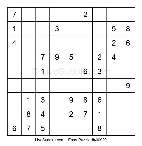 Beginners Puzzle #400920