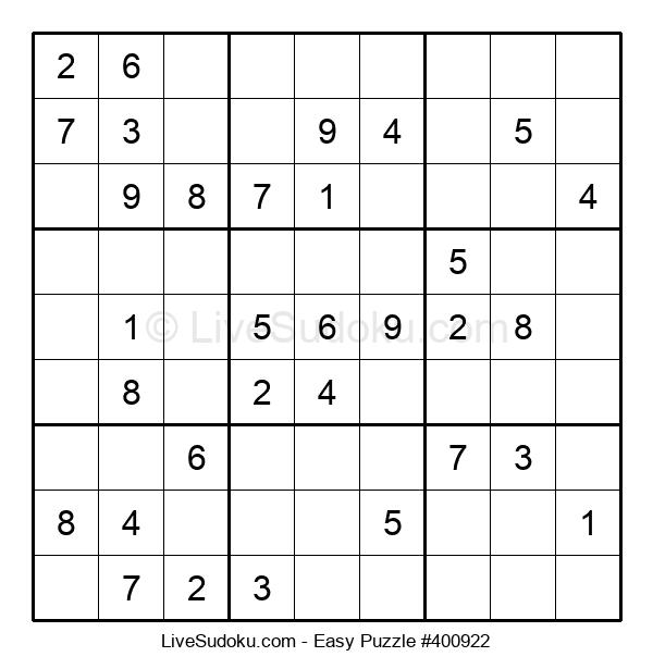 Beginners Puzzle #400922