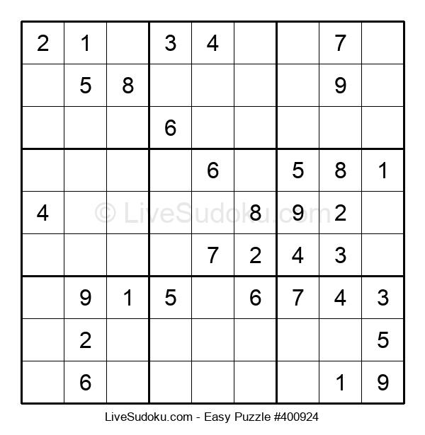 Beginners Puzzle #400924
