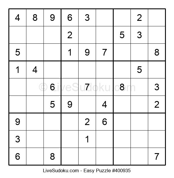 Beginners Puzzle #400935