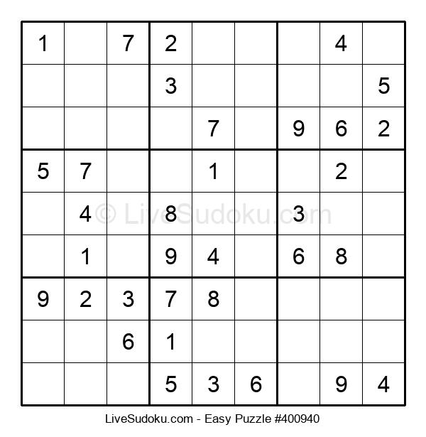 Beginners Puzzle #400940