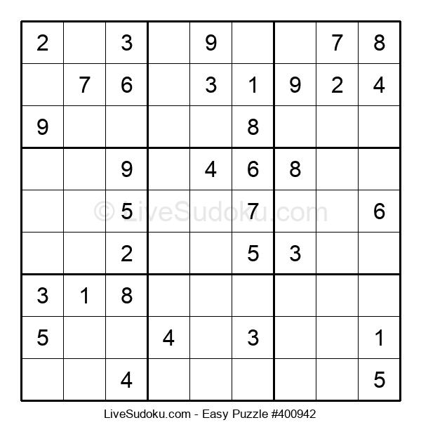 Beginners Puzzle #400942