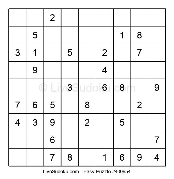Beginners Puzzle #400954
