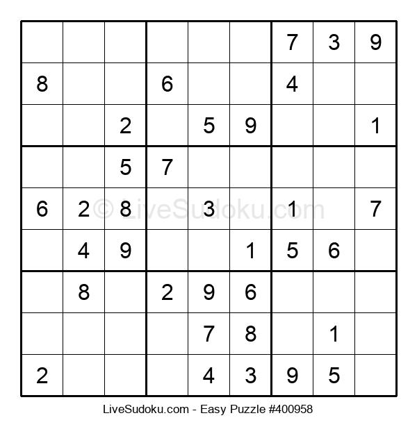 Beginners Puzzle #400958