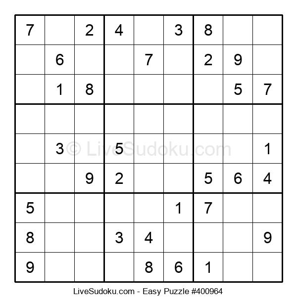 Beginners Puzzle #400964