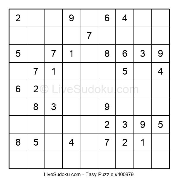 Beginners Puzzle #400979