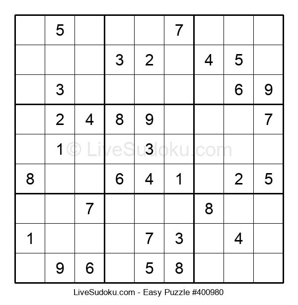 Beginners Puzzle #400980