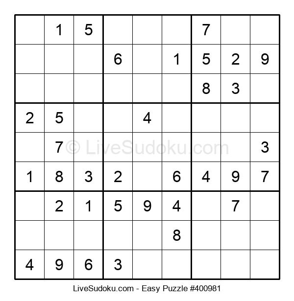 Beginners Puzzle #400981