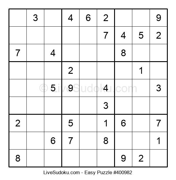 Beginners Puzzle #400982