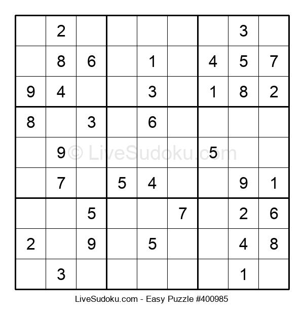 Beginners Puzzle #400985