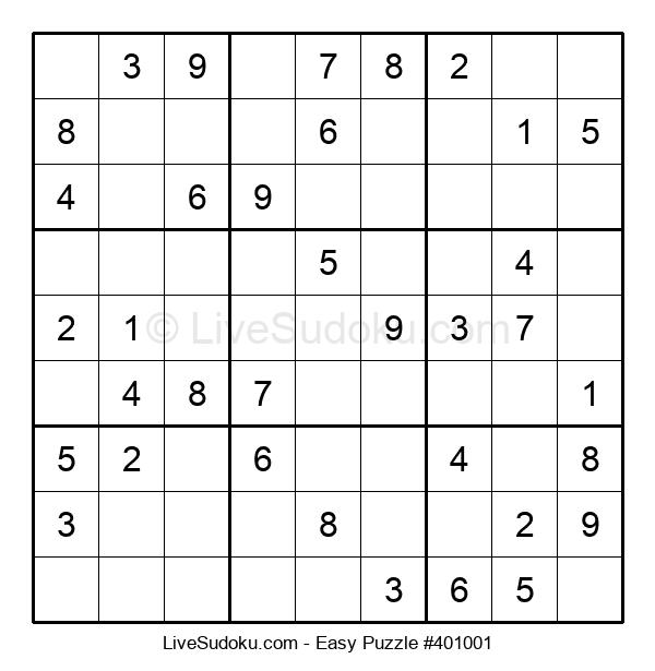 Beginners Puzzle #401001