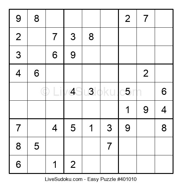 Beginners Puzzle #401010
