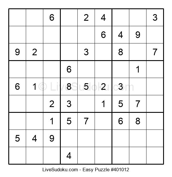 Beginners Puzzle #401012
