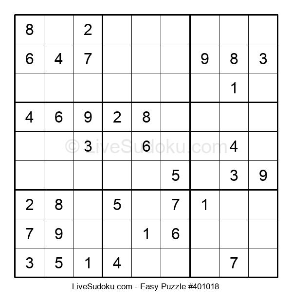 Beginners Puzzle #401018
