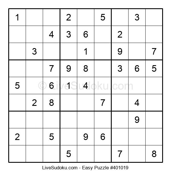 Beginners Puzzle #401019