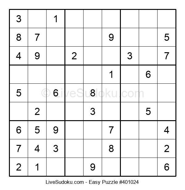 Beginners Puzzle #401024