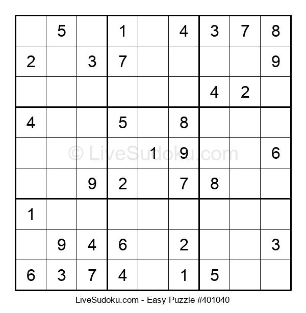 Beginners Puzzle #401040
