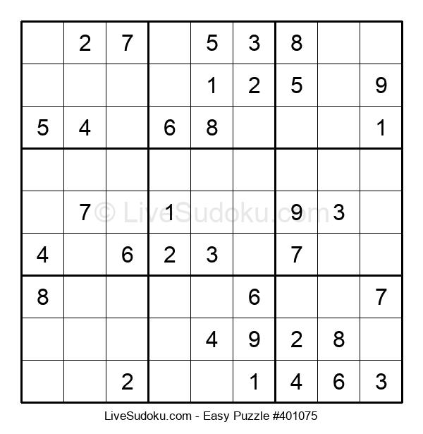 Beginners Puzzle #401075