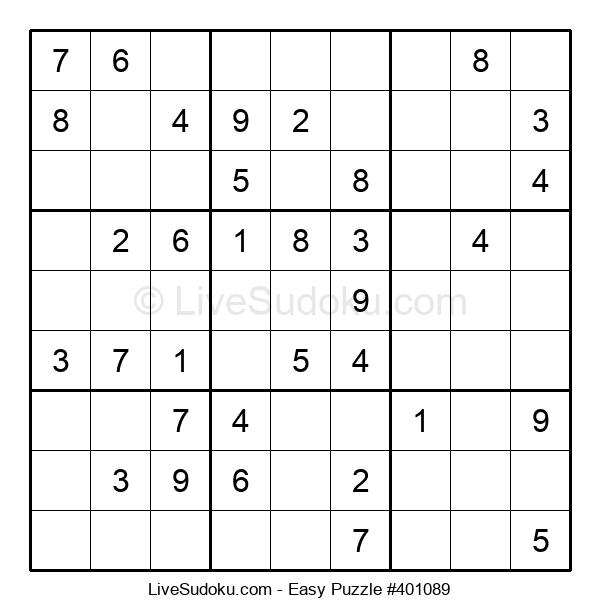 Beginners Puzzle #401089