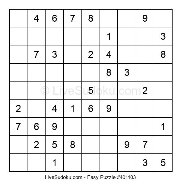 Beginners Puzzle #401103