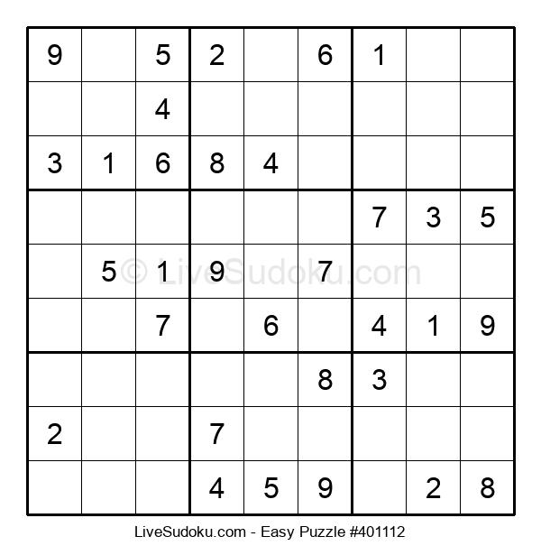 Beginners Puzzle #401112