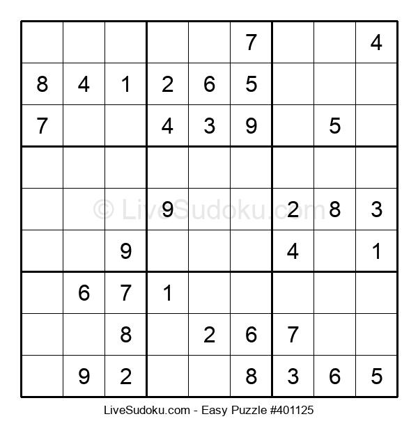 Beginners Puzzle #401125