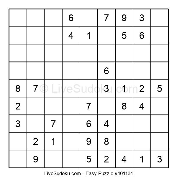 Beginners Puzzle #401131