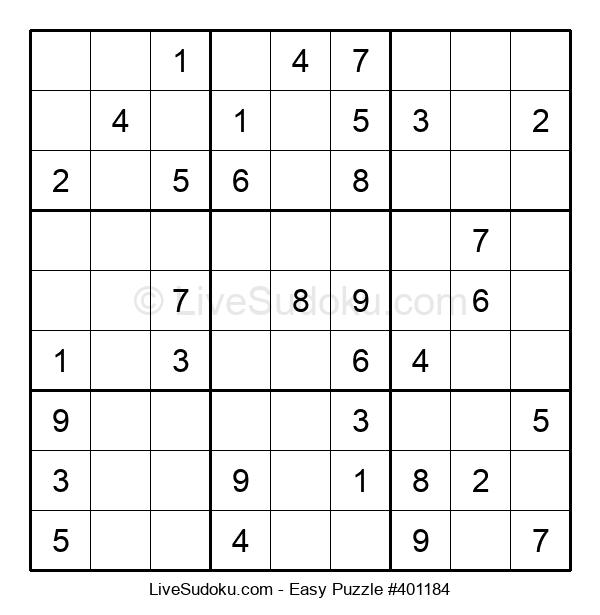 Beginners Puzzle #401184