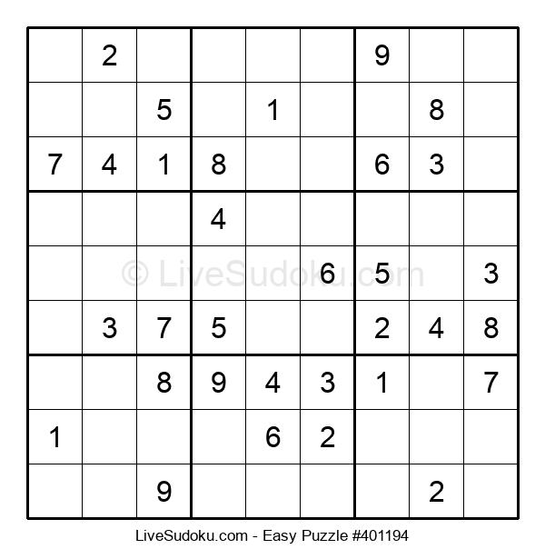 Beginners Puzzle #401194