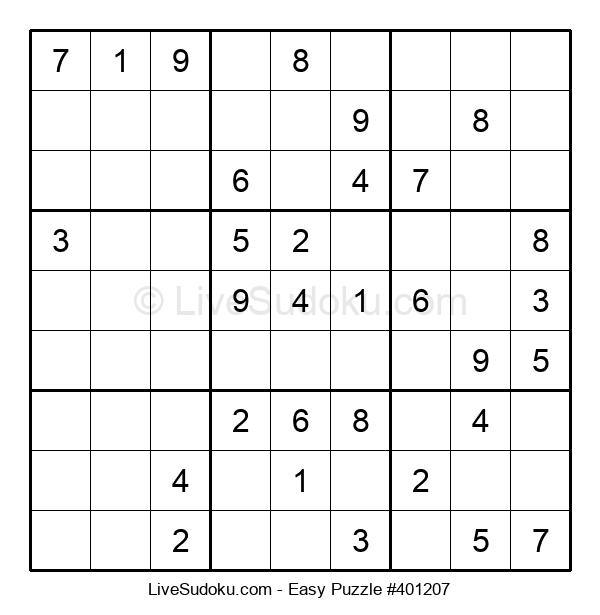 Beginners Puzzle #401207