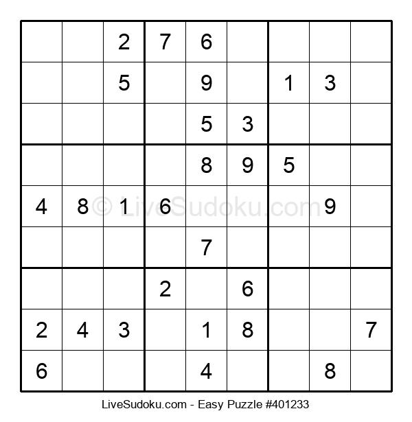Beginners Puzzle #401233