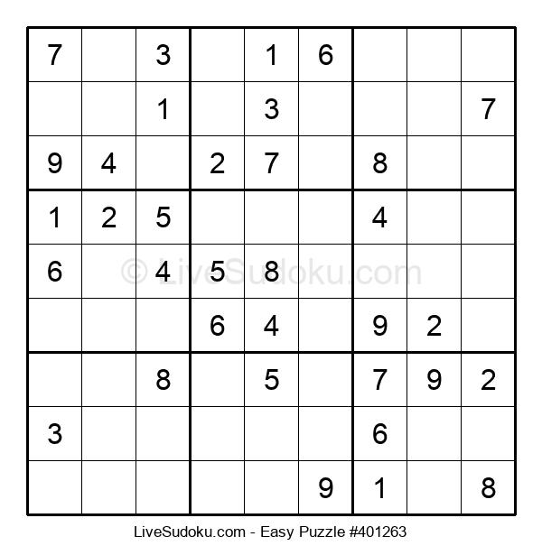 Beginners Puzzle #401263