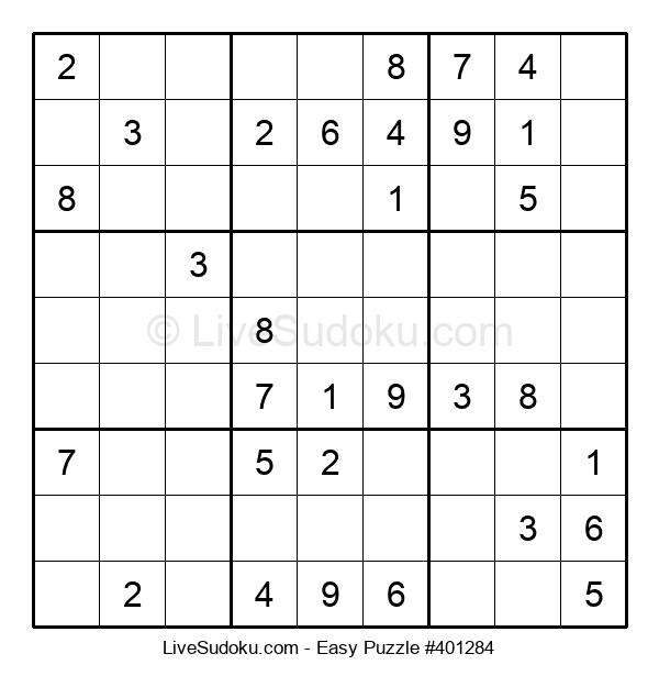 Beginners Puzzle #401284