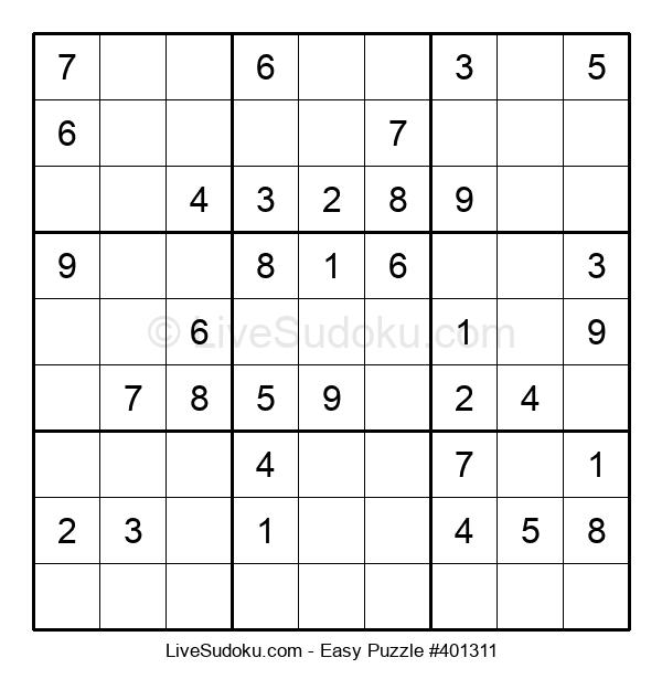 Beginners Puzzle #401311