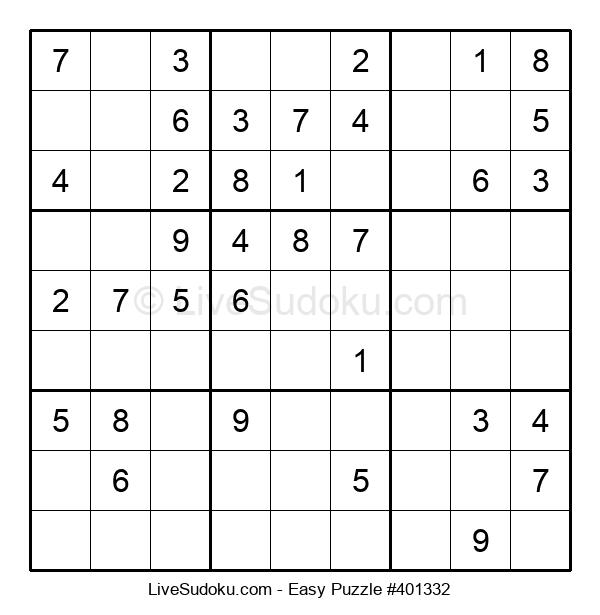 Beginners Puzzle #401332