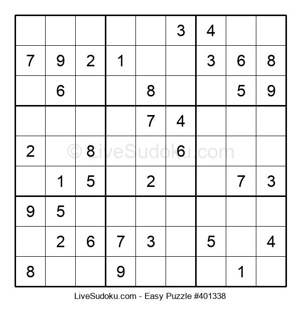 Beginners Puzzle #401338