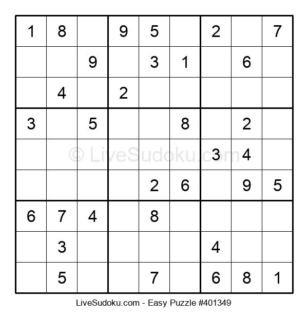 Beginners Puzzle #401349