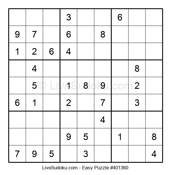 Beginners Puzzle #401360
