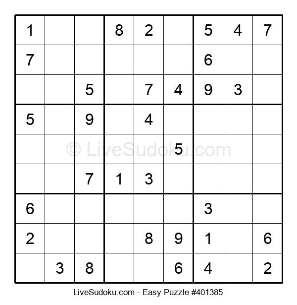 Beginners Puzzle #401385