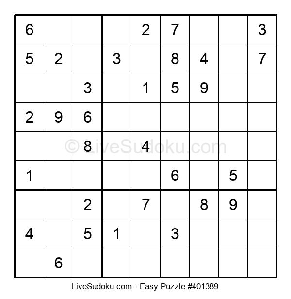 Beginners Puzzle #401389