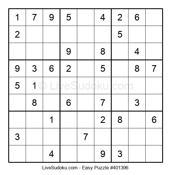 Beginners Puzzle #401396