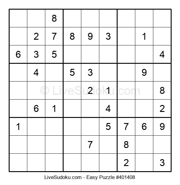 Beginners Puzzle #401408