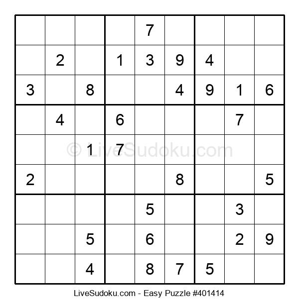 Beginners Puzzle #401414